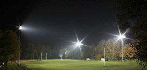 Le terrain de match