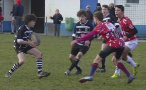 Week-end mitigé pour l'Ecole de Rugby